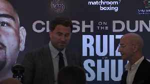 News video: Eddie Hearn: Anthony Joshua rematch could change the sport forever