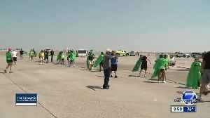 Getting Ready for the 2019 Special Olympics Colorado Plane Pull [Video]