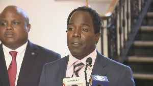 Web Extra: Mount Vernon's New Mayor Holds News Conference [Video]