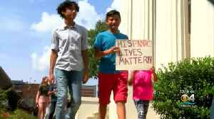 Mississippi Children & Community Members Protest Recent Immigration Raids [Video]