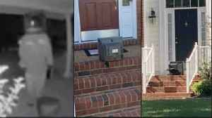 'TV Santa Claus': Video Shows Mysterious Figure Leaving Vintage TVs on Virginia Front Porches [Video]