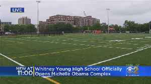 Whitney Young High School Names New Facility After Michelle Obama [Video]