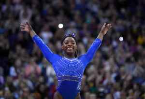 News video: Simone Biles Wins Sixth US All-Around Title