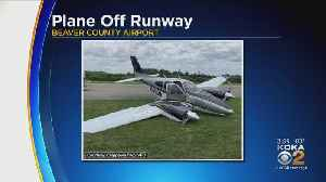 Small Plane Crashes At Beaver Co. Airport [Video]