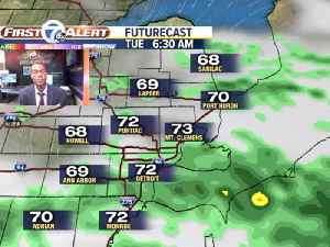 Showers and storms arrive tonight [Video]