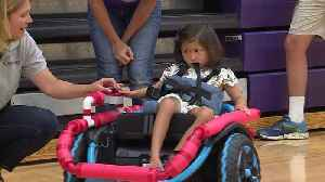 Robotics Team Builds Custom Wheelchair for Four-Year-Old Girl with Special Needs [Video]