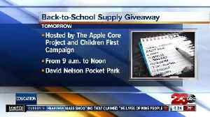 Organizations team up to help kids with back to school supplies in East Bakersfield [Video]