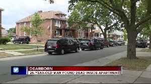 News video: Dearborn police investigating death of 26-year-old Marine City man