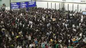 News video: Hong Kong International Airport Cancels All Remaining Flights Due To Protests