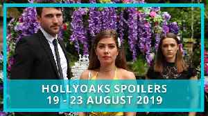 Hollyoaks spoilers: 19 - 23 August 2019 [Video]