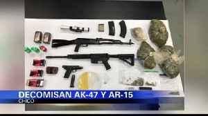Decomisan AK-47 y AR-15 en departamento [Video]