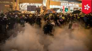 News video: Hong Kong police fire tear gas, rubber bullets into metro station