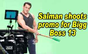 Salman shoots promo for Bigg Boss 13 [Video]