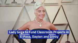 Lady Gaga Helps The Communities Of El Paso, Dayton and Gilroy [Video]