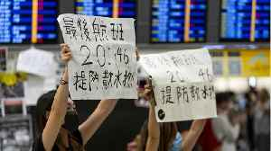 Civil Unrest Shuts Down Hong Kong Airport [Video]