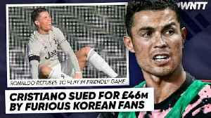 WHY CRISTIANO RONALDO IS BEING SUED FOR £46M!   #WNTT [Video]