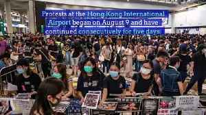 Protests in Hong Kong Cause Second Day of Flight Cancelations [Video]