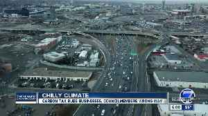 Business groups, unions, Xcel tell Denver council to pump brakes on carbon tax proposal [Video]