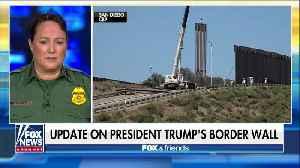 US Border Patrol chief has update on border wall progress [Video]