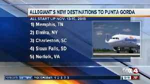 Five new flights announced in Punta Gorda [Video]