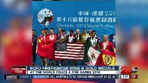 Kern County firefighter dominates in the pool at the World Police and Fire Games [Video]