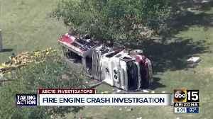 Investigation into deadly crash involving a Phoenix firetruck [Video]