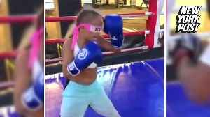 Watch this 11-year-old boxer kick butt blindfolded [Video]
