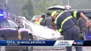 Truck driver killed in Hinds County crash [Video]