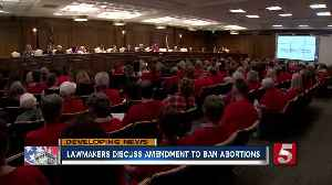 News video: Tennessee lawmakers discuss bill that could make abortion illegal