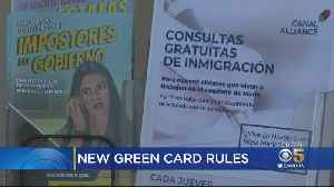 New Trump Admin. Rule Could Deny Green Cards, Citizenship To Immigrants Receiving Public Assistance [Video]