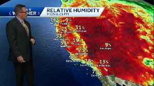Hot temps inland for the next few days, above average temps on the coast [Video]