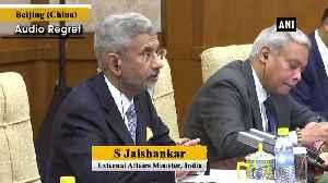 India-China relationship has unique place in global politics EAM Jaishankar [Video]