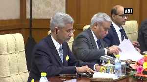 News video: India, China to organise 100 activities for strengthening people to people ties EAM