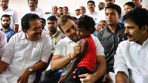 Congress leader Rahul Gandhi visits flood relief camps in Wayanad, Kozhikode [Video]