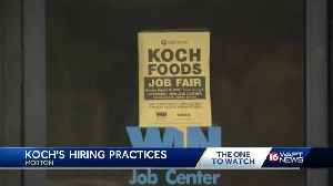 Koch Foods holds job fair days after immigration raid [Video]