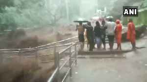 Heavy rain alert for Odisha; Harishankar waterfall overflows, enters temple [Video]
