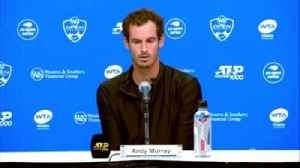 Murray: US Open didn't feel right [Video]