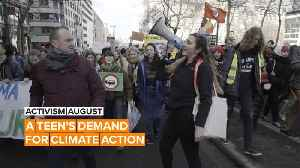 Activism August: Pili's army of students against climate change [Video]
