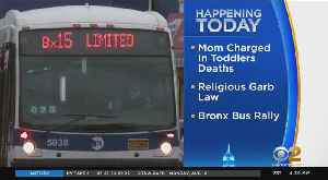Rally For Better Bronx Bus Service [Video]