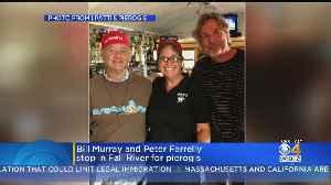 Actor Bill Murray Visits Fall River Restaurant [Video]