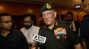 Art 370 lockdown | Army chief on bonhomie with people of J&K, message to Pak [Video]
