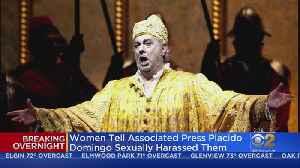 Opera Legend Placido Domingo A Longtime Ssexual Harasser, Several Women Allege [Video]