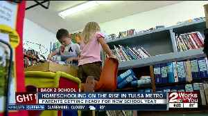 Homeschooling on the rise in Tulsa metro area [Video]
