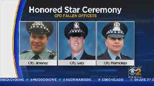 Chicago Police Department Retires Badges Of Three Officers Killed In The Line Of Duty [Video]