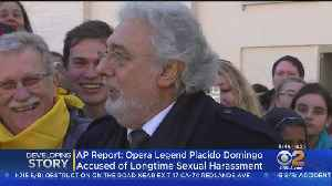 Report: 9 Women Accuse Placido Domingo Of Sexual Misconduct [Video]