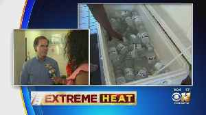 Cooling Stations Helping North Texans In The Heat [Video]