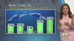 11AM Weather Update With Anne Elise Parks [Video]
