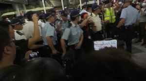News video: Clashes break out at Hong Kong airport