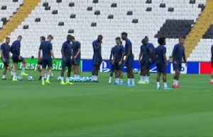 Lampard's Chelsea train for Super Cup clash with Liverpool [Video]
