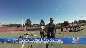 Arapahoe County Deputy Arrives In China For World Police & Fire Games [Video]